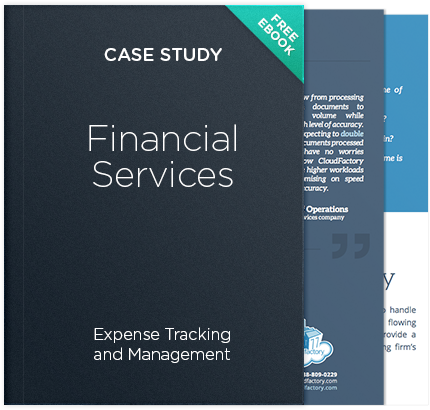 Finanacial Services - Expense Tracking and Management Case Study