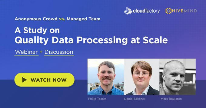 Anonymous Crowd vs. Managed Teams: A Study on Quality Data Processing at Scale