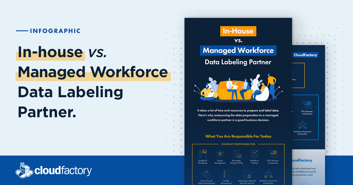 In-House vs. Managed Workforce Data Labeling Partner
