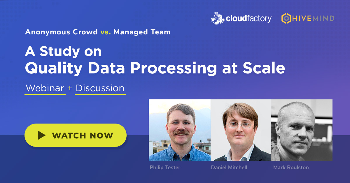 Anonymous Crowd vs. Managed Team: A Study on Quality Data Processing at Scale