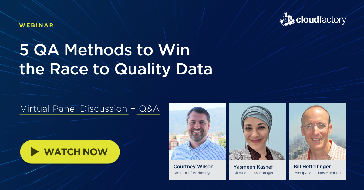 5 QA Methods to Win the Race to Quality Data