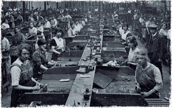 Tranditional assembly lines