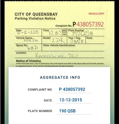 Parking Ticket Transcribing